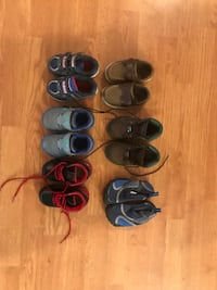 8 pairs of toddler boy size 5 shoes! Ashburn, 20147