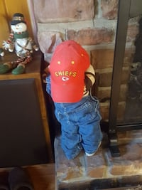 Time out doll with chiefs cap Kansas City, 64131
