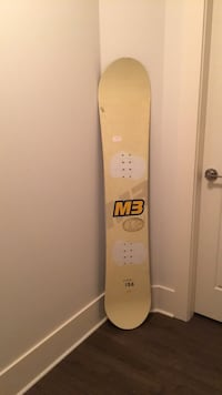 156 M3 snowboard in lightly used condition  Maple Ridge, V4R