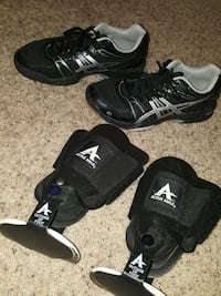 Asics Gel Rocket Volleyball shoes & braces Anchorage, 99516