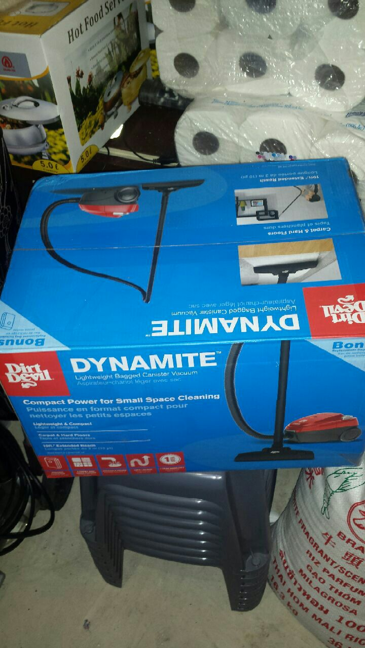 Dirt Devil Dynamite box for sale  Brampton