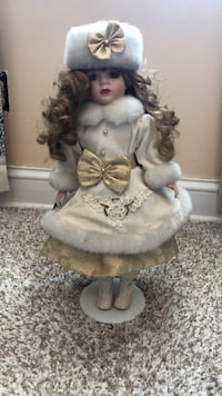 Genuine porcelain doll Jefferson, 21755