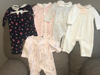 5 Janie and Jack onesies-size 0-3 months  Alexandria, 22304