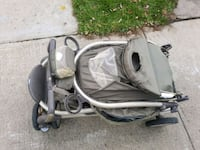 baby's gray and black stroller 788 km