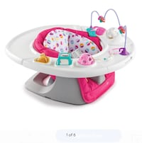 baby's white and pink bather San Angelo, 76903