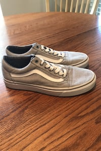 Men's Vans Size 9 Gray/White Frederick, 21703