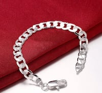 Men or women's silver bracelet - NEW Leesburg