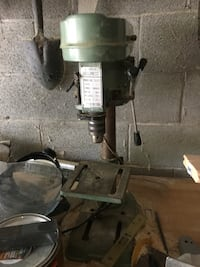 Bench top drill press works