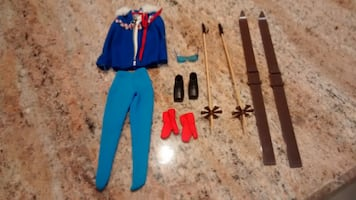 Vintage Barbie Ski Queen outfit