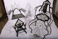 Badass Charlotte's web inspired hand welded chair!© get yours now Portland, 97215