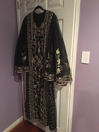 black and grey floral abaya Montgomery Village, 20886