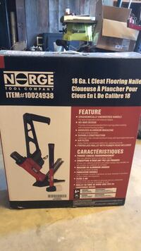 18 gauge floor nailer for bamboo and other hardwoods