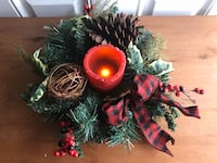 Christmas Tabletop Candle Holder Ring/Wreath Hagerstown, 21742