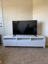 White TV stand - Gently used  Salt Lake City, 84106