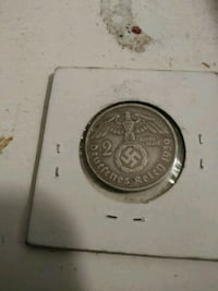 1939 2 marks german coin