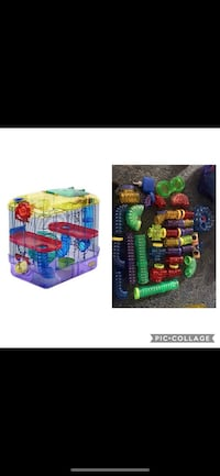 Hamster cage and items  Hopewell, 43746