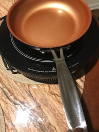 Nuwave Precision 2 full size Induction Cook Top with Copper Non stick pan and carrying bag.... All new $60.00 firm. Buyers only!!!! Thanks  Owings Mills, 21117