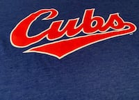 Chicago Cubs Vintage Cubbies '80s Blue Shirt
