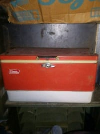 red and gray tool chest West Monroe