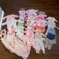 0-3 months baby girl clothes St. Albert, T8N 5A6