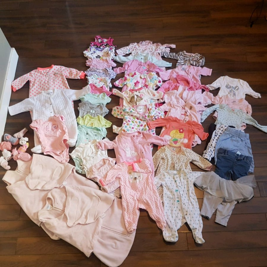 0-3 months baby girl clothes