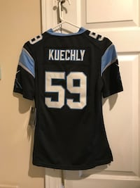 Official panthers football 59 kuechly jersey. Women's or girls xs Raleigh, 27617