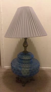 1975 vintage Hollywood regency style lamp Pontiac, 48342