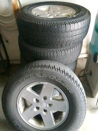 Used Tires Des Moines >> Used 2012 Jeep Wrangler Wheels And Tires For Sale In West Des