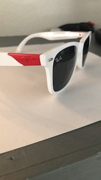 white and black framed sunglasses North Las Vegas, 89031