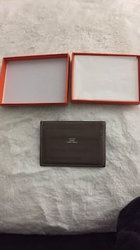two black and brown leather wallets Toronto