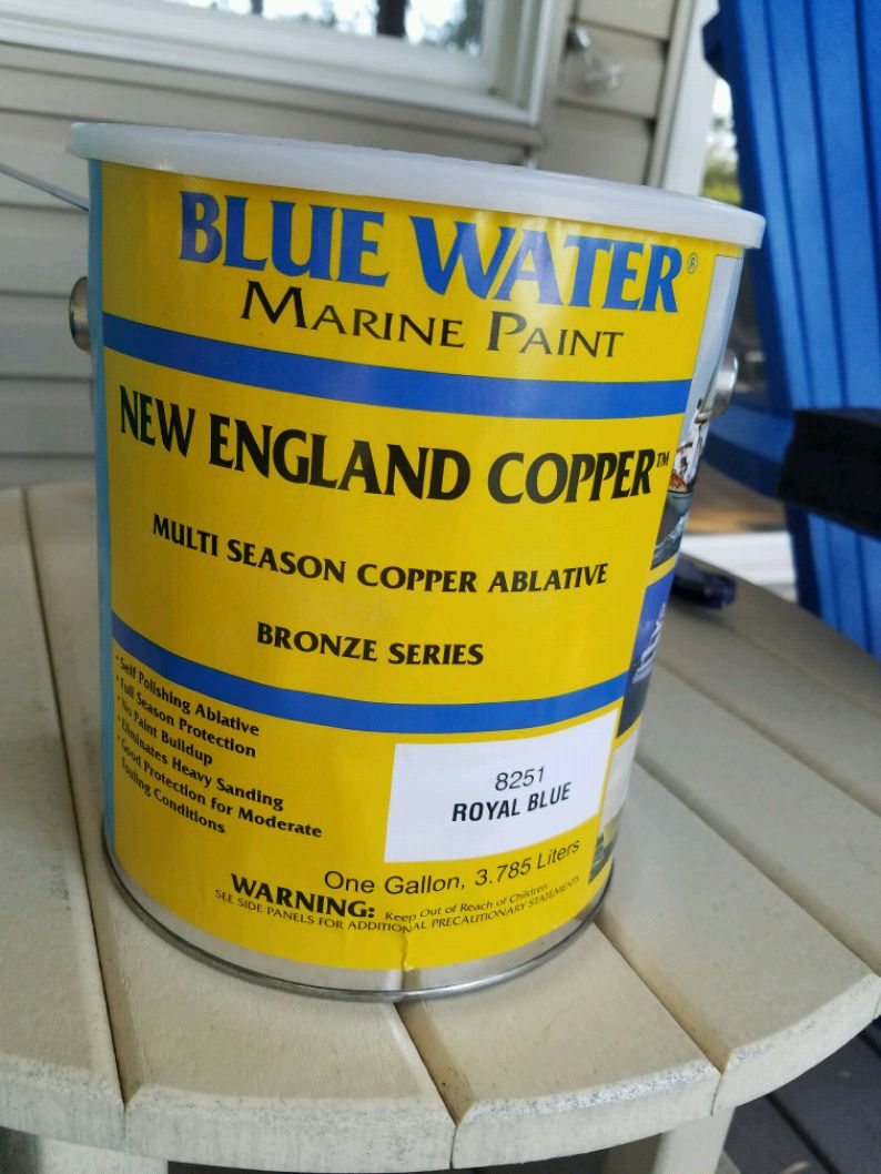 Photo Bottom Paint for Boat