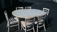 Ceramic Tile Table with Leaf and (6)  Chairs  Virginia Beach, 23455