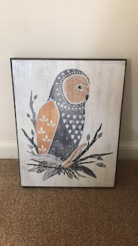 Brown and white bird painting Stephens City