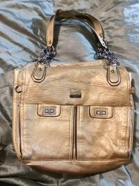 Gold authentic Coach large handbag Indianapolis, 46227