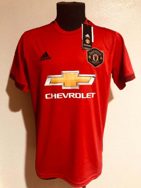 sports shoes 9c290 40044 Manchester United 2019-2020 Home Jersey!!!!