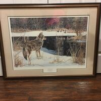 Ducks Unlimited numbered print