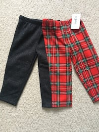 New Carters 12 month old fleece pants Manassas, 20109