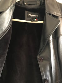 Women leather jacket (size M) Springfield, 22150