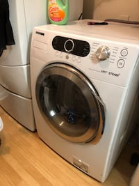 white front-load clothes washer Atlanta, 30336