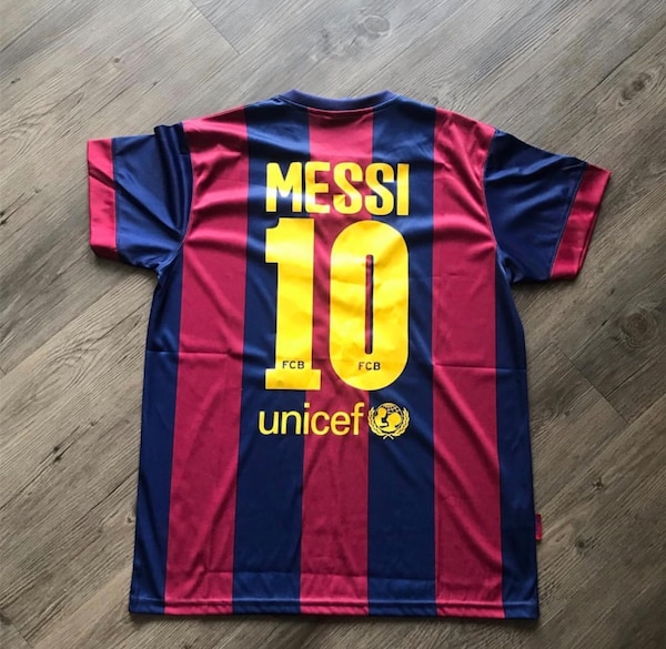 brand new a2aa7 03736 F.C.B. Messi Soccer Jersey