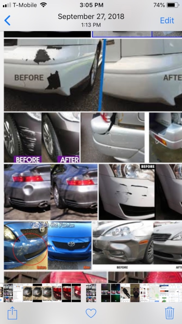 Safe auto repair  We fix all types of dents  Dents-frame-rust-paint-replaceparts-and much more ....  $399in up whole car paint jobs stage 1 and 2 paint available.must bring car to fshop for full paint jobs.  $99 in up dent in plastic fiberglass bumpers