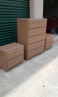 Used Dresser With Matching Nightstands For Sale In San