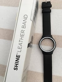 Misfit Shine Leather Band Watch Strap