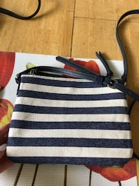 NEW CROSS BODY CANVAS FAUX SUEDE BAG Toronto, M8W 3P2