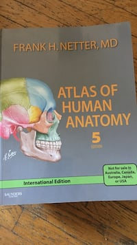 Anatomy textbook  Toronto, M5P 2G8
