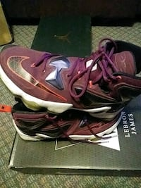 "LeBron James 13 ""Mulberry"" basketball shoe Halifax, B3R 1Y8"