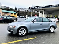 Team West Auto Group 2009 Audi A4 2.0T Quattro Premium Tech Package No accident Clean a4 Coquitlam