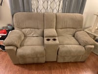Pull out couch and double recliner Nashville, 37027
