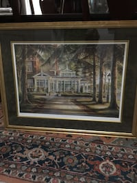 "Large Trisha Romance numbered print "" The Conservatory"" beautiful framed and matted  London, N6A 2Z2"