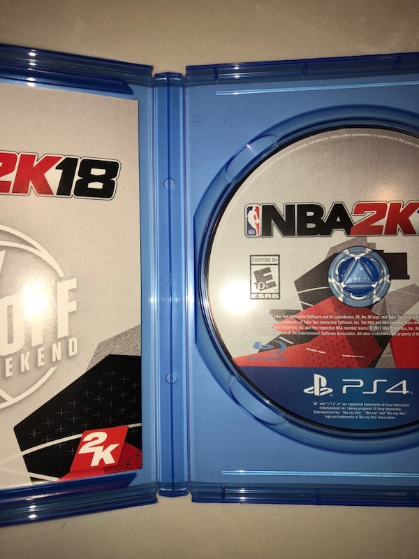 53e0d65ee Used NBA2K18  Early Tip-Off Edition (PS4) for sale in Springfield - letgo